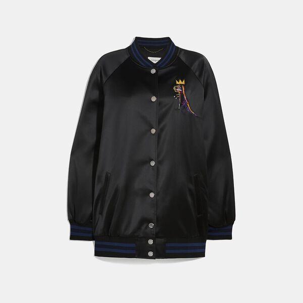 Coach X Jean-Michel Basquiat Oversized Varsity Jacket