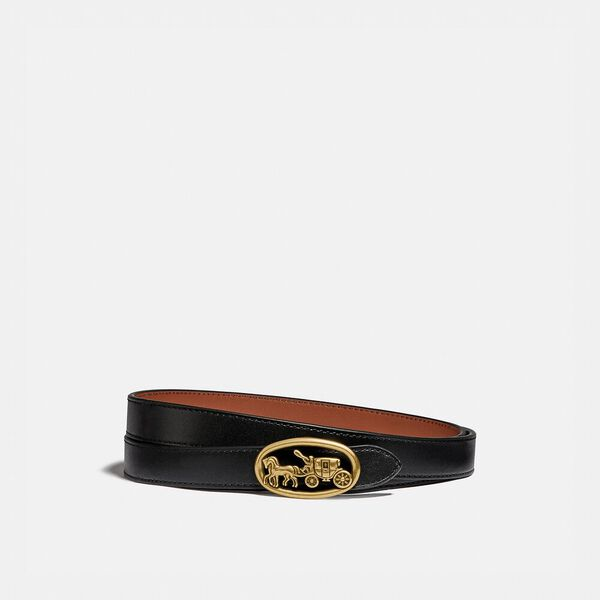 Horse And Carriage Reversible Buckle Belt