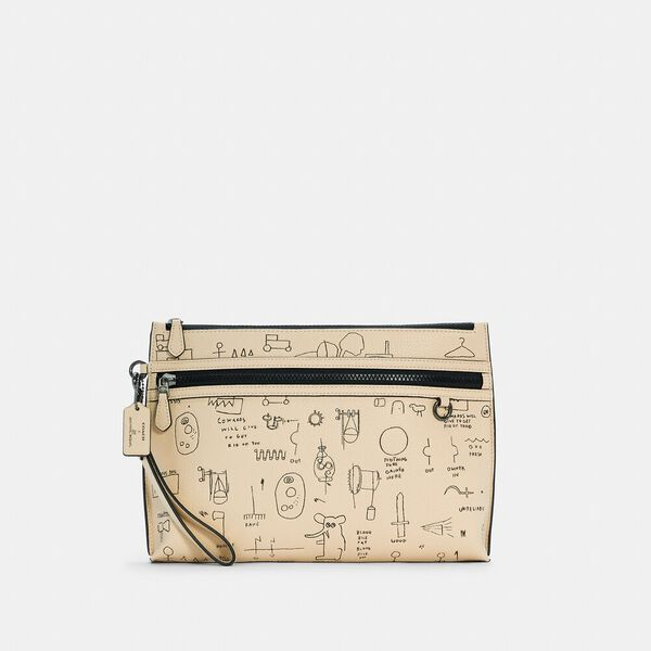 Coach X Jean-Michel Basquiat Carryall Pouch