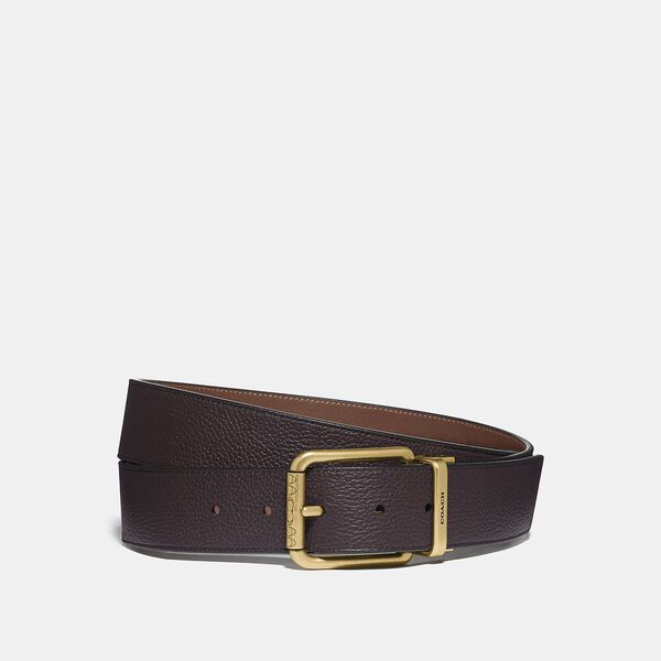 Roller Buckle Cut-To-Size Reversible Belt, 38Mm