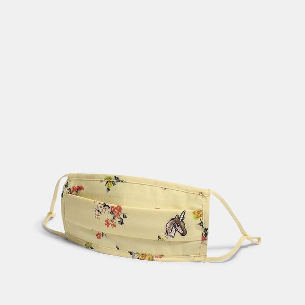 Uni Face Mask With Floral Print