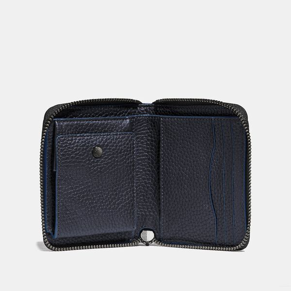 Zip Around Coin Wallet, MIDNIGHT, hi-res