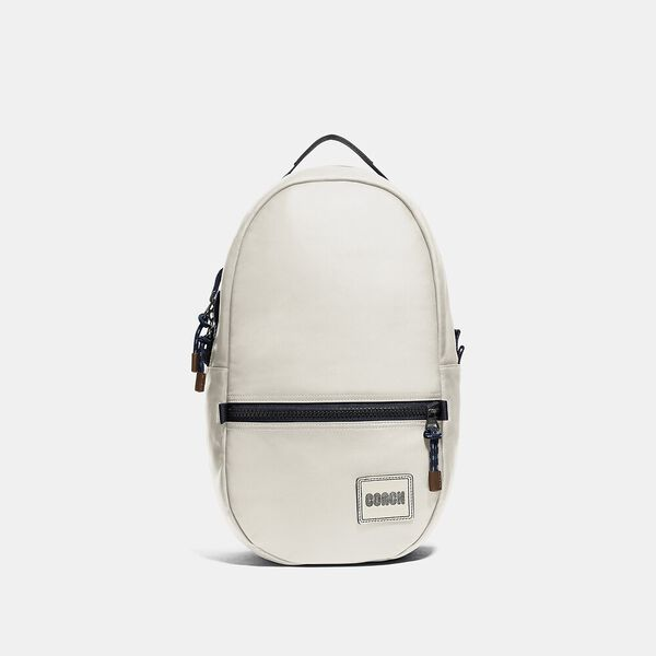 Pacer Backpack With Coach Patch, JI/CHALK, hi-res