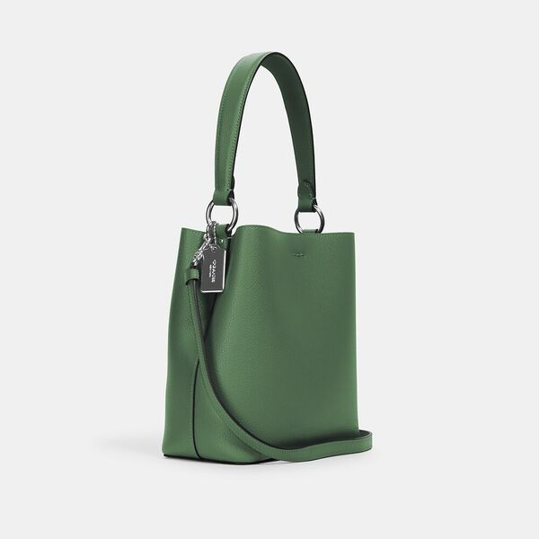 Small Town Bucket Bag, SV/SHAMROCK MIDNIGHT, hi-res