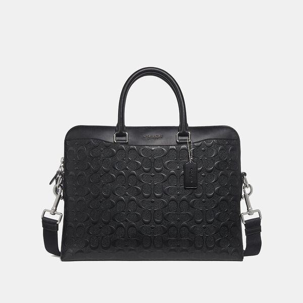 Beckett Portfolio Brief In Signature Leather