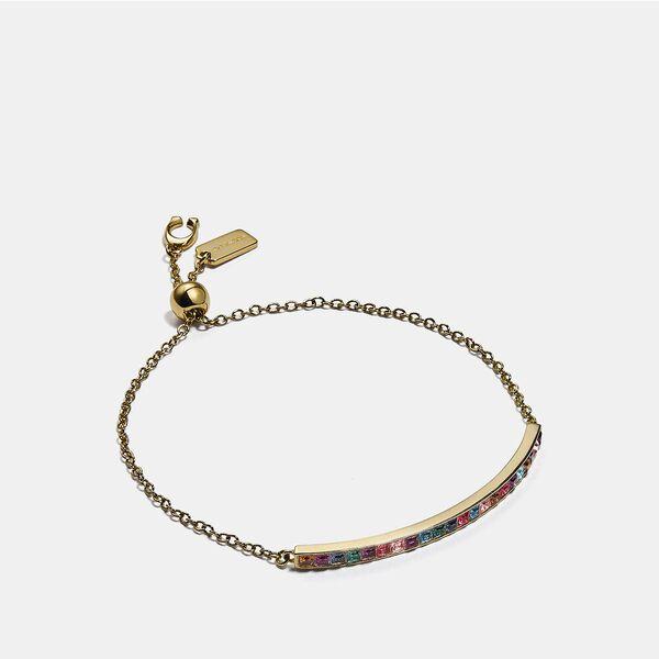Legacy Rainbow Slider Bracelet, GD/LEGACY MULTI, hi-res