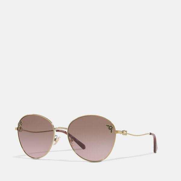 Tea Rose Oval Sunglasses