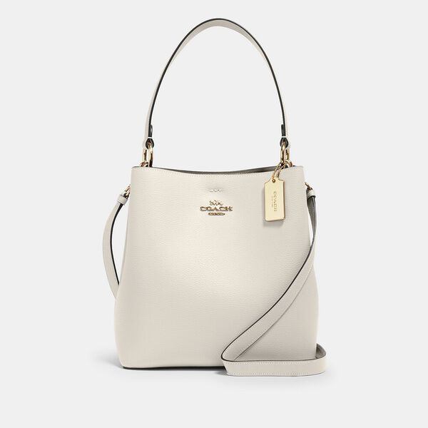 Town Bucket Bag, IM/CHALK LIGHT SADDLE, hi-res