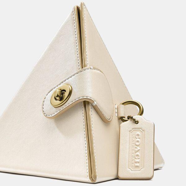 City Blocks Triangle Bag, B4/IVORY, hi-res