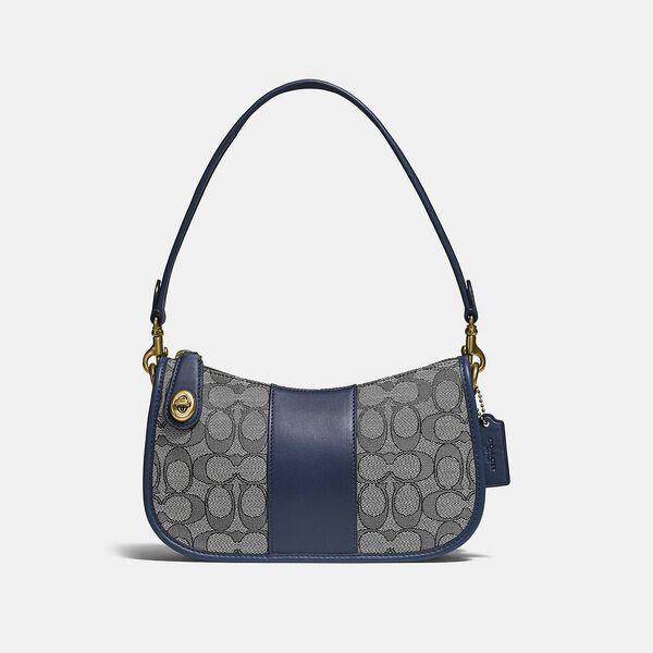 Swinger Bag In Signature Jacquard
