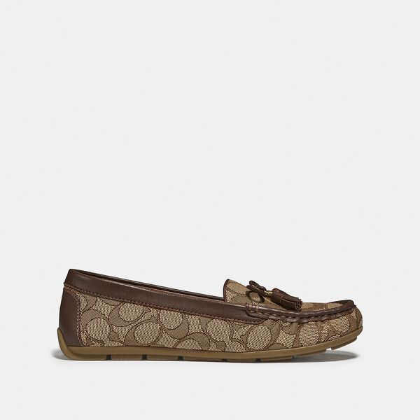 Moira Loafer, KHAKI/SADDLE, hi-res