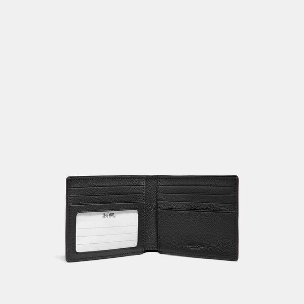 Id Billfold Wallet, QB/BLACK, hi-res