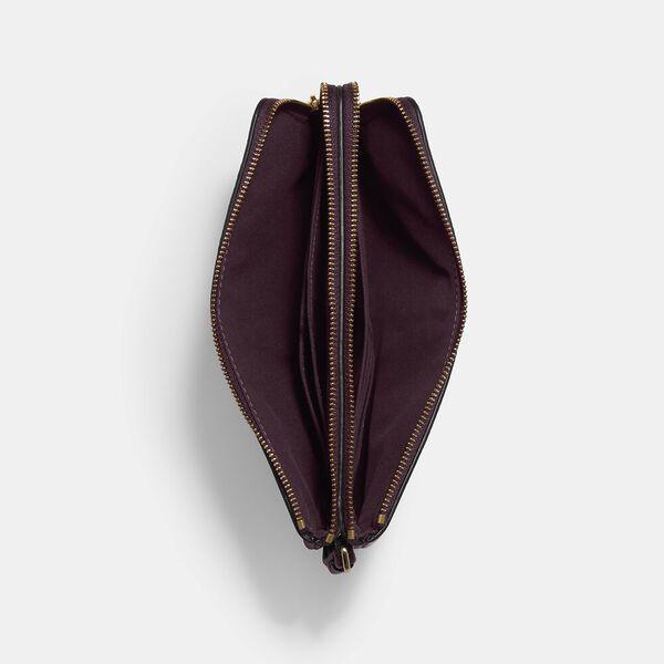 Double Zip Wallet, IM/BOYSENBERRY, hi-res