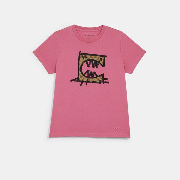 Rexy By Guang Yu T-Shirt, PINK, hi-res