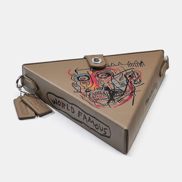 Coach X Basquiat Triangle Bag 24 With Head 1982, 0I/ELM, hi-res