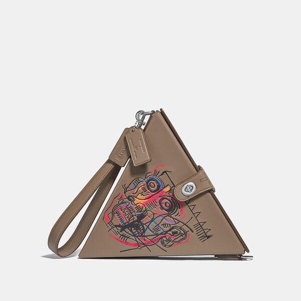Coach X Basquiat Triangle Bag 24 With Head 1982