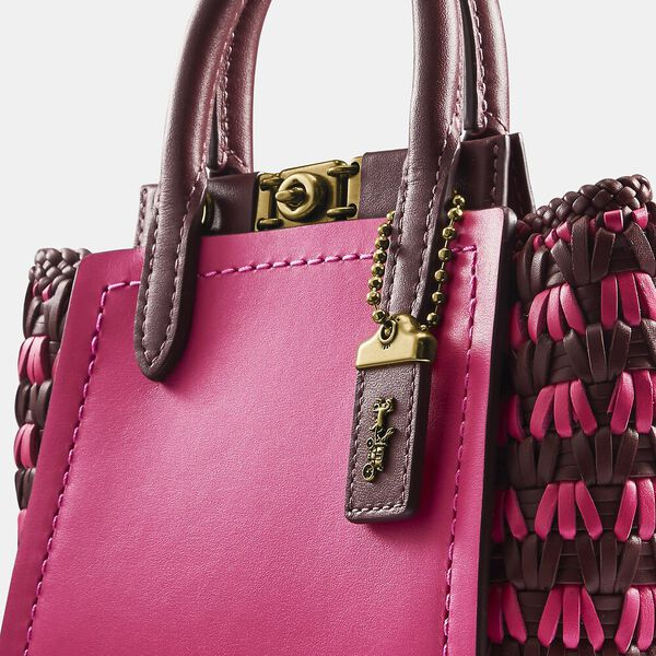 Troupe Tote 16 With Weaving, B4/CONFETTI PINK MULTI, hi-res