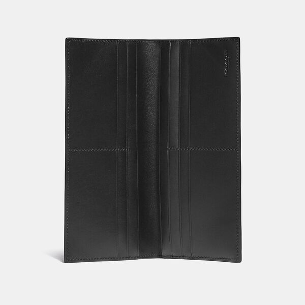 Breast Pocket Wallet In Signature Canvas, CHARCOAL/BLACK, hi-res