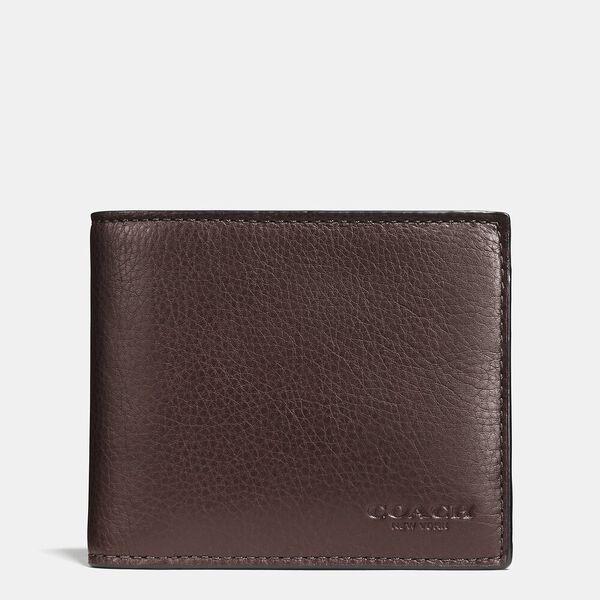 3-In-1 Wallet, MAHOGANY, hi-res