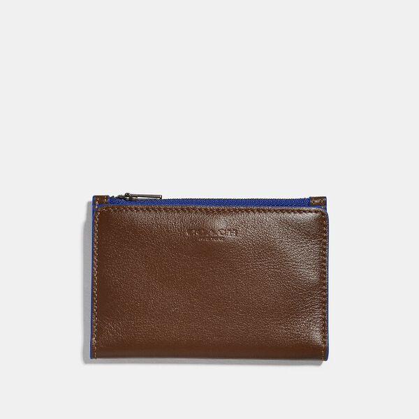 Bifold Zip Card Case