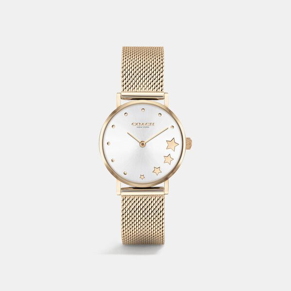 Perry Rose Gold Mesh Watch