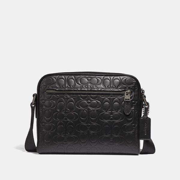 Metropolitan Soft Camera Bag In Signature Leather