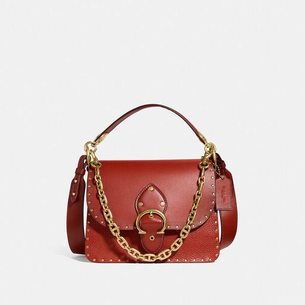Beat Shoulder Bag With Rivets