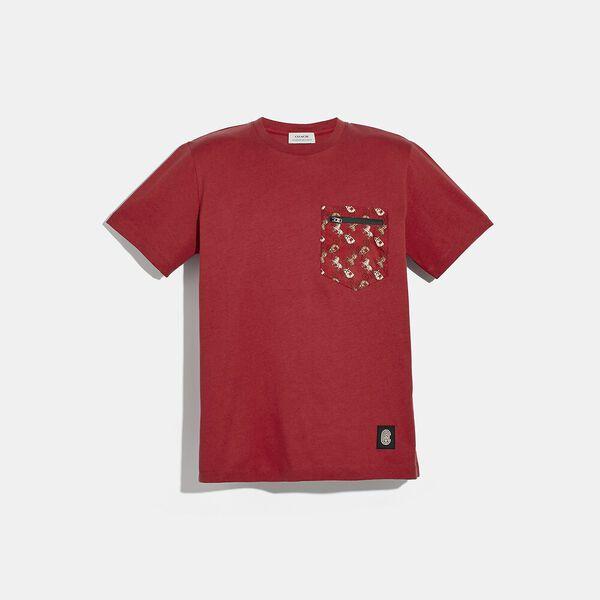 Lunar New Year Nylon Detail T-Shirt