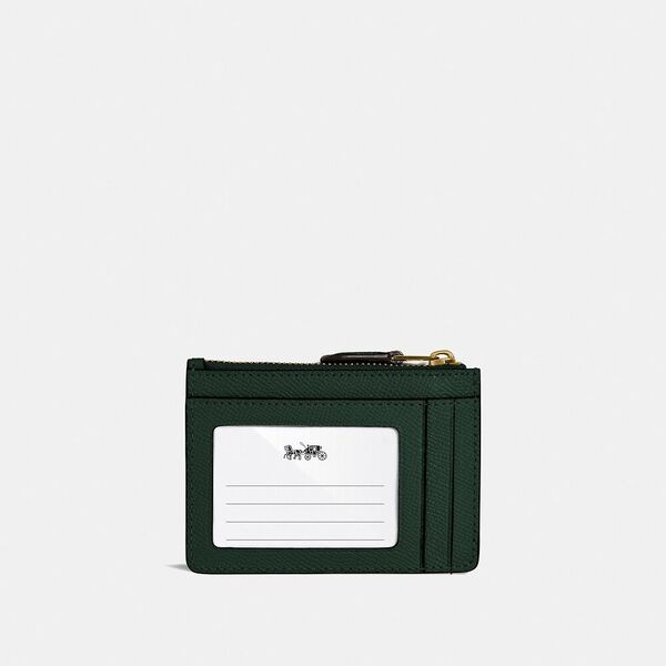 Mini Skinny Id Case, B4/AMAZON GREEN, hi-res