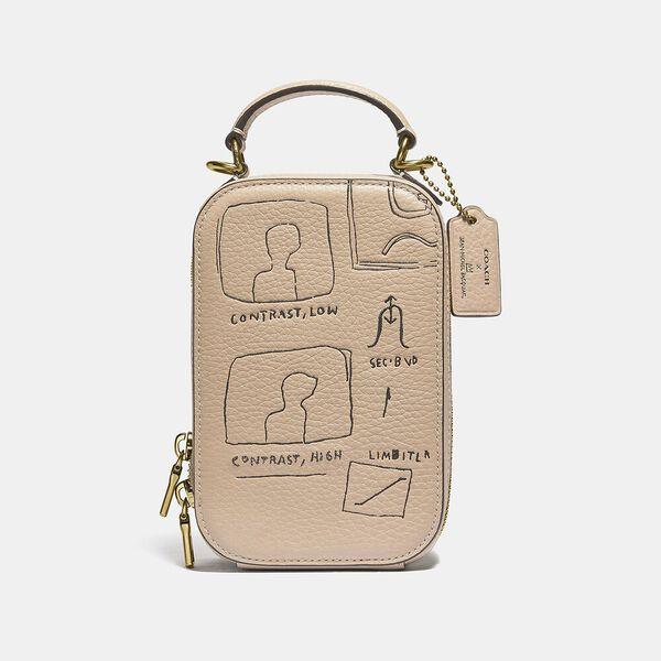 Coach X Basquiat Contrast Alie Camera Bag, B4/IVORY, hi-res