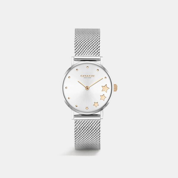 Perry Silver Mesh Watch