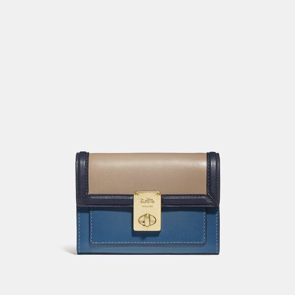 Hutton Wallet In Colorblock, B4/LAKE MULTI, hi-res