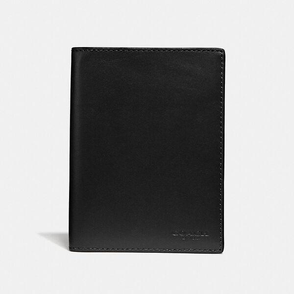 Passport Case, BLACK, hi-res