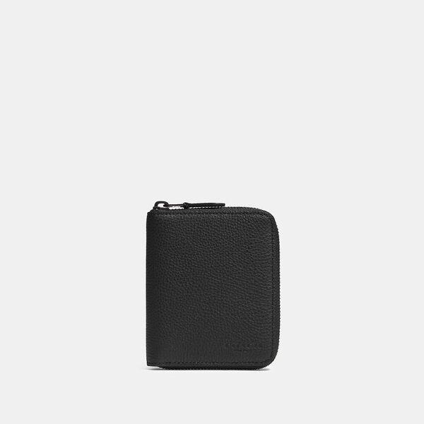 Medium Zip Around Wallet, QB/BLACK, hi-res