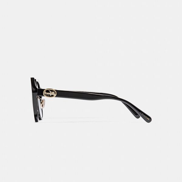 Horse And Carriage Oversized Round Sunglasses, BLACK, hi-res