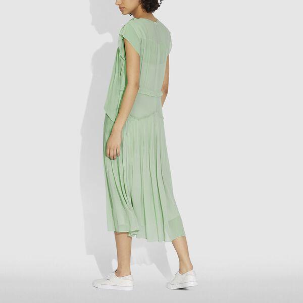 Sleeveless Uptown Dress, PALE GREEN, hi-res