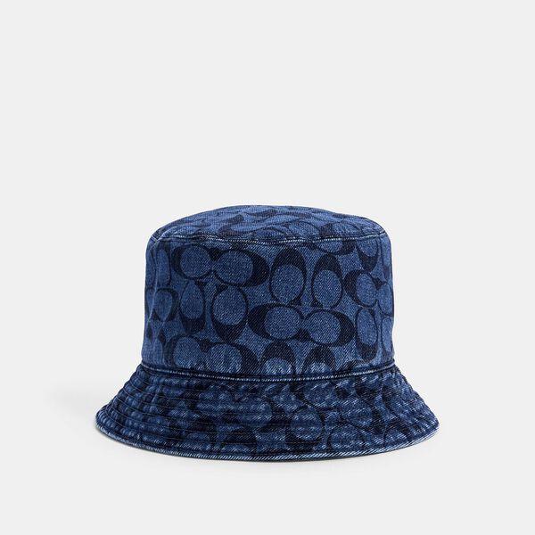 Signature Denim Bucket Hat
