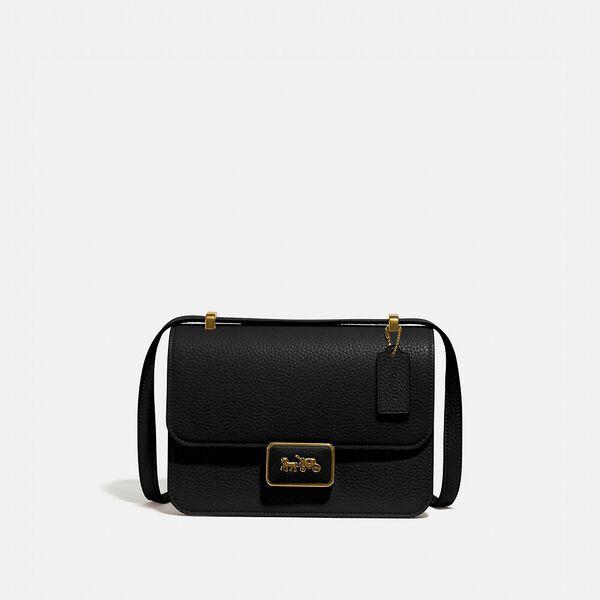 Alie Shoulder Bag, B4/BLACK, hi-res