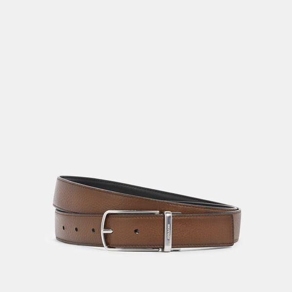 Skinny Buckle Cut-To-Size Reversible Dress Belt, 32mm