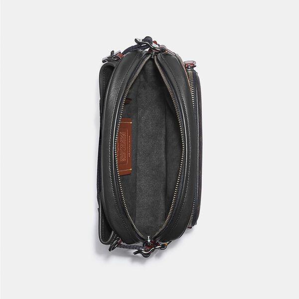 Hitch Belt Bag In Signature Canvas With Horse And Carriage Print, JI/TRUFFLE MULTI, hi-res