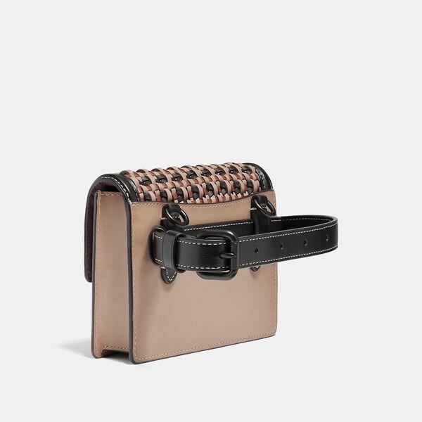 Hutton Belt Bag With Weaving, V5/BLACK MULTI, hi-res