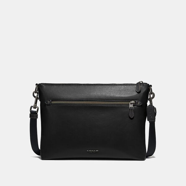 Graham Soft Messenger, QB/BLACK, hi-res