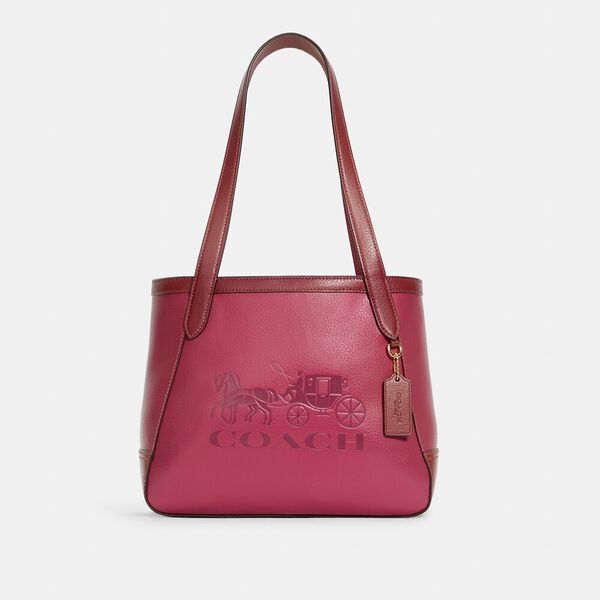 Tote 27 In Colorblock With Horse And Carriage