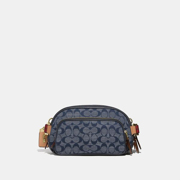 Belt Bag In Signature Chambray, OL/CHAMBRAY, hi-res