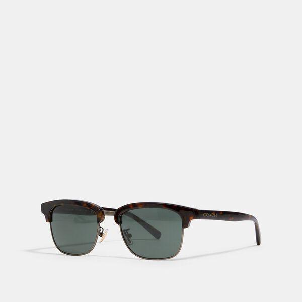 Dean Square Sunglasses, DARK TORTOISE, hi-res