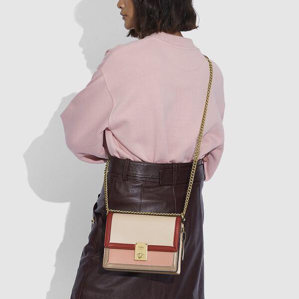 Hutton Shoulder Bag In Colorblock, B4/IVORY BLUSH MULTI, hi-res