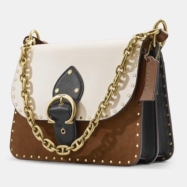Beat Shoulder Bag, B4/VINTAGE KHAKI, hi-res