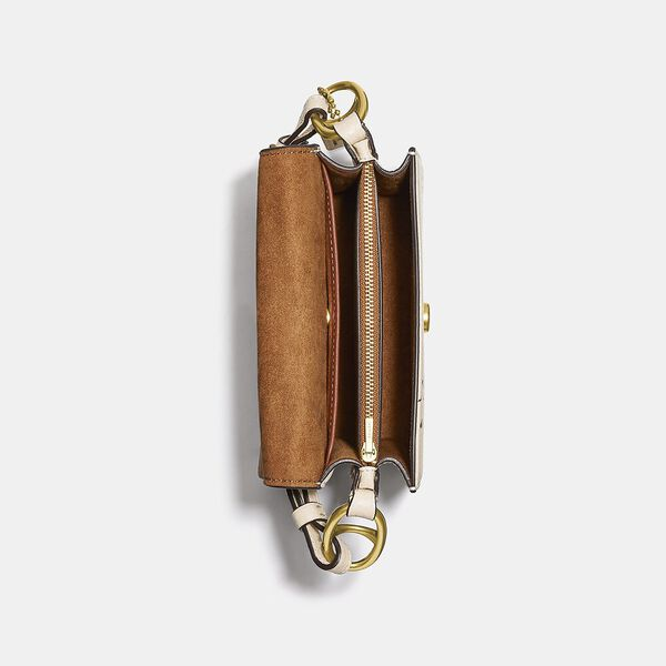 Coach X Basquiat Five Beat Shoulder Bag 18, B4/IVORY, hi-res