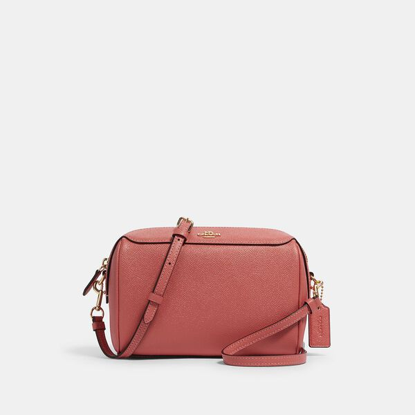 Bennett Crossbody, IM/BRIGHT CORAL, hi-res