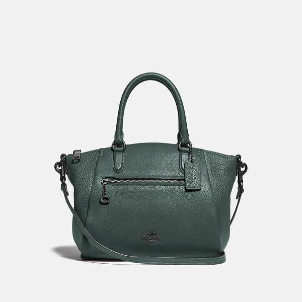 Elise Satchel In Colorblock, GM/FOREST MULTI, hi-res